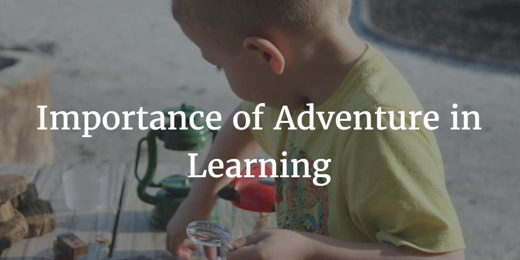 Importance of Adventure in Learning