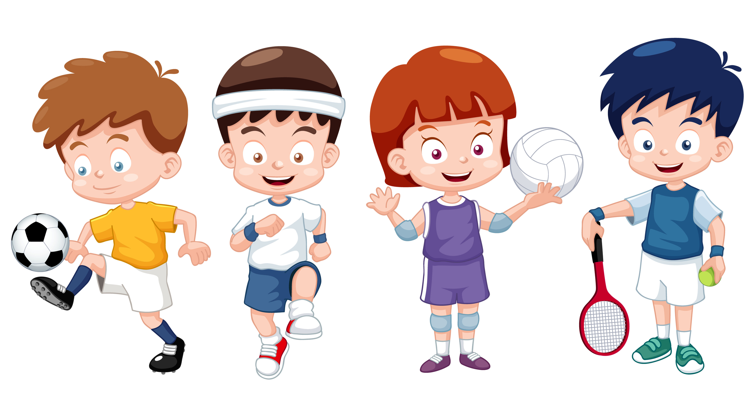 Why should sports be an important aspect of a child's routine?