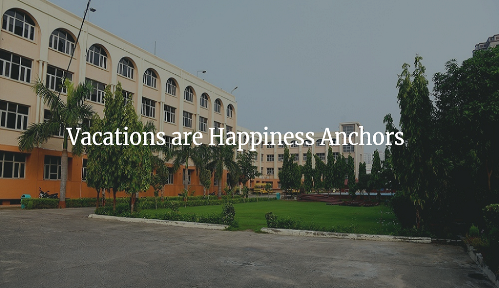Vacations are Happiness Anchors